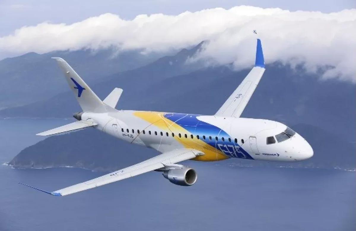 Embraer vende 17 aviões E175 para Alaska Air por 848 milhões de dólares. Foto: Divulgação