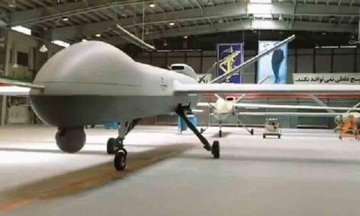 Irã revela o Gaza, um drone capaz de voar por até 35 horas. Foto: Reprodução/Sepahnews