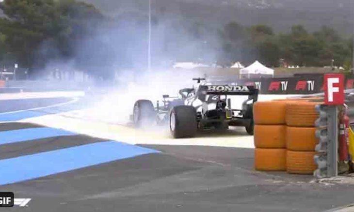 Verstappen supera Hamilton e fica com a pole do GP da França de F1. Foto: Reprodução Twitter