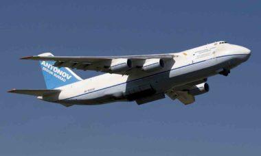 Três aeroportos brasileiros receberão o gigante Antonov AN-124 nesse final de semana. Foto: Wikipedia