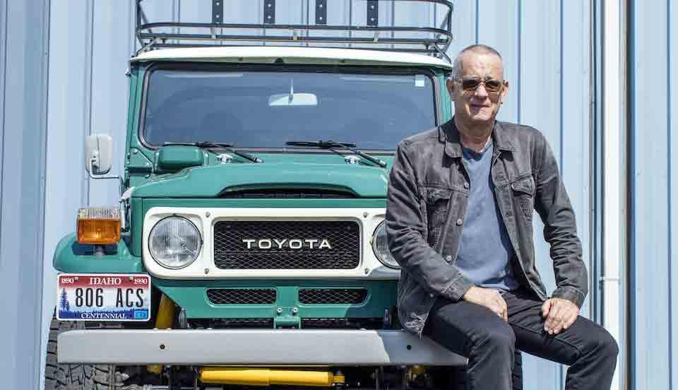 Toyota que pertenceu a Tom Hanks, vai a leilão por mais de R$ 600 mil. Foto: Bonhams