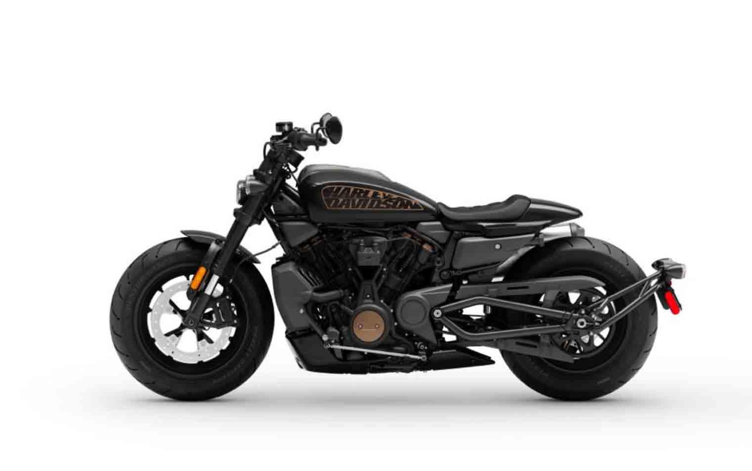 Harley-Davidson Sportster S. Foto: Divulgação