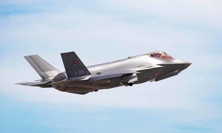 Lockheed Martin F-35. Foto: Divulgação