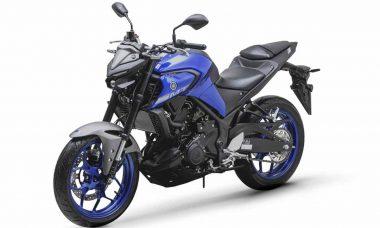 Yamaha MT03. Foto: Divulgação