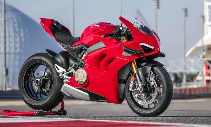 Ducati Panigale V4. Foto: Divulgação