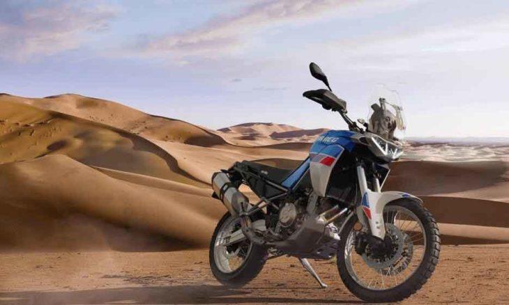 Aprilia Tuareg 660. Foto: Divulgação