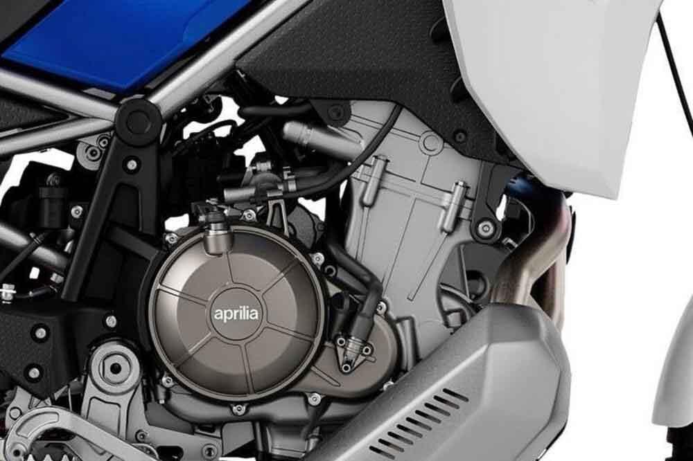 O motor bicilíndrico possui 80 cv de potência e torque máximo de 70 Nm. Foto: Divulgação