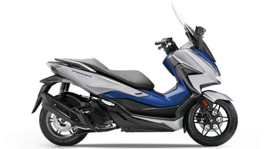 Honda Forza 125. Foto: Divulgação