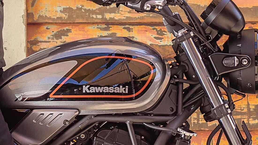 Kawazaki Z650RS 2022. Foto: Divulgação