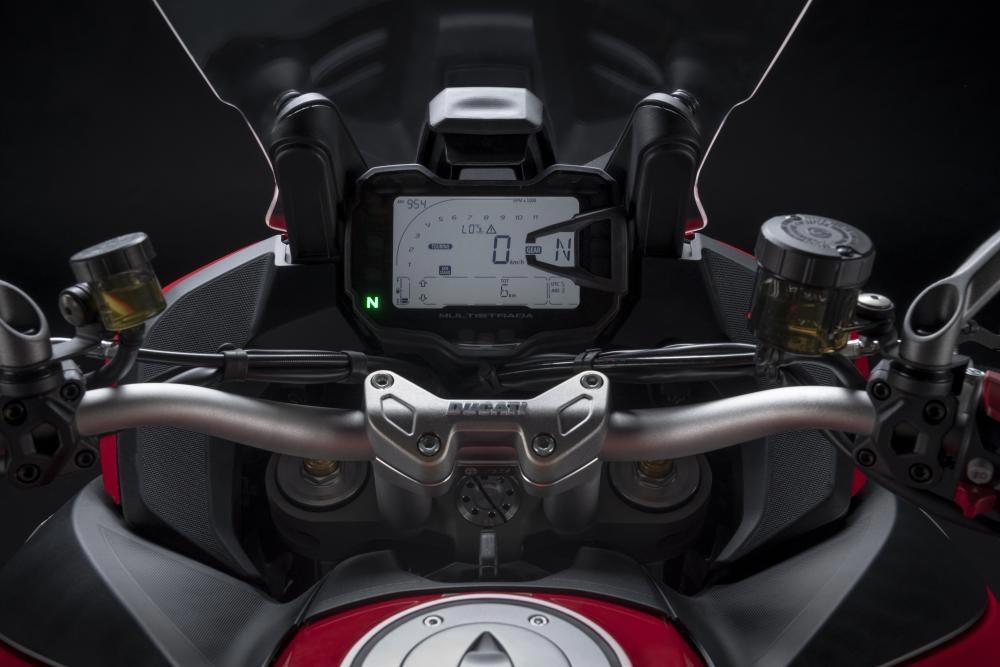 Ducati Multistrada V2. Foto: Divulgação