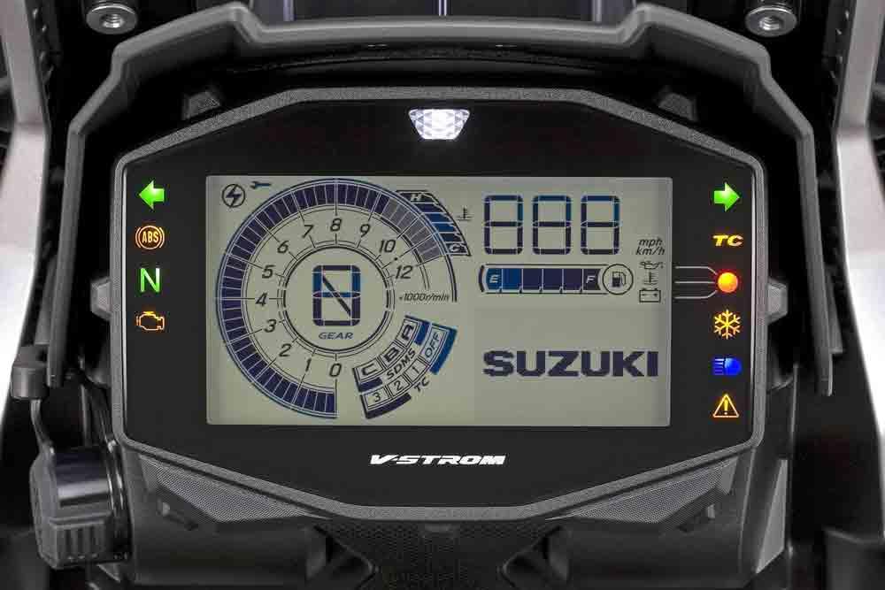 Suzuki V-Strom 1050 XT. Foto: Divulgação