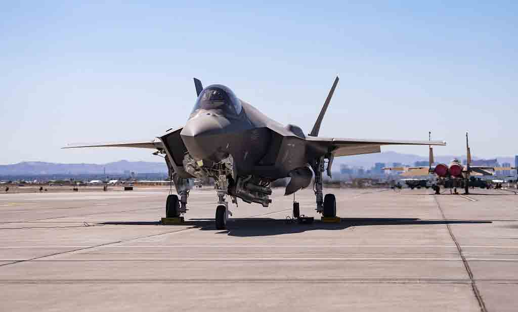 F-35A Lightning II. Foto: Divulgação